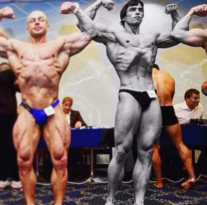 Ο Ρώσος bodybuilder που έχει εντυπωσιακή ομοιότητα με τον Arnold Schwarzenegger (10)