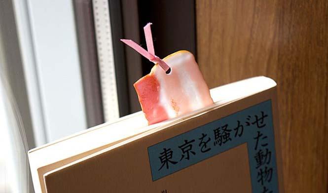 Σελιδοδείκτης μπέικον και άλλα αλλόκοτα σχέδια από την Ιαπωνία (1)