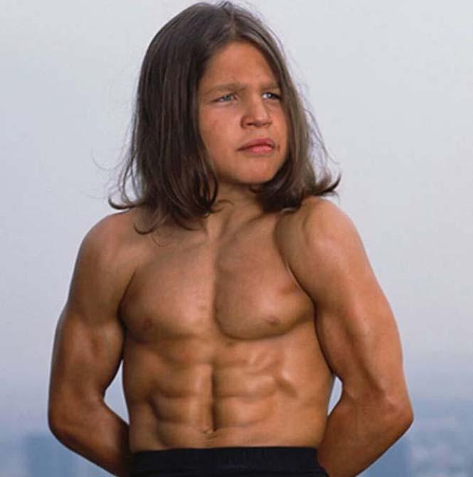 Πως είναι σήμερα ο μικρός bodybuilder που ήταν γνωστός ως «Μικρός Ηρακλής» (2)