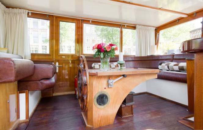 Σκάφος - σπίτι στο Άμστερνταμ (3)