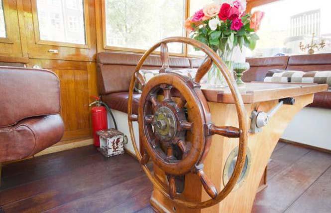 Σκάφος - σπίτι στο Άμστερνταμ (4)