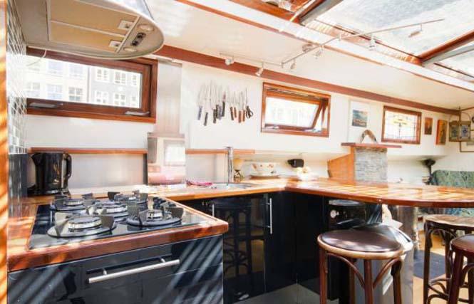 Σκάφος - σπίτι στο Άμστερνταμ (9)