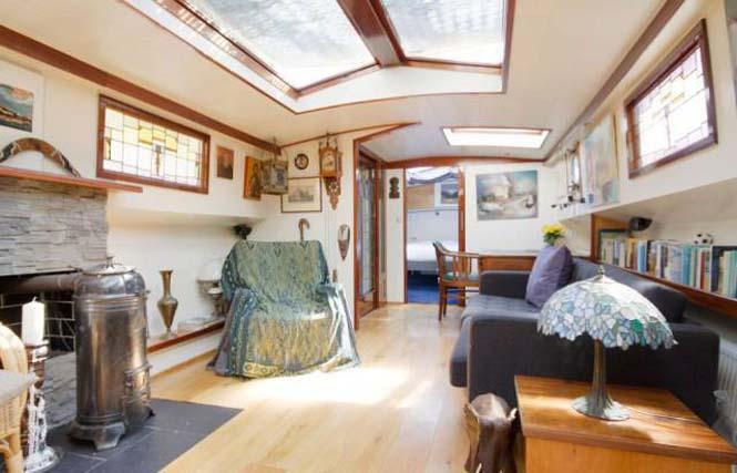 Σκάφος - σπίτι στο Άμστερνταμ (10)
