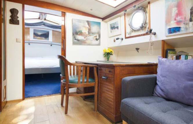 Σκάφος - σπίτι στο Άμστερνταμ (11)