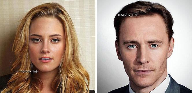 Σπεσιαλίστας του Photoshop συνδυάζει τα πρόσωπα διασήμων και το αποτέλεσμα είναι γοητευτικό (1)