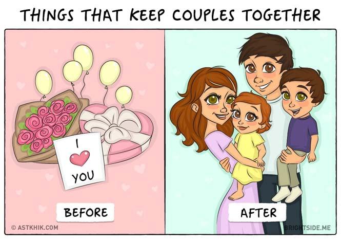 Η ζωή πριν και μετά τον γάμο μέσα από σκίτσα (5)