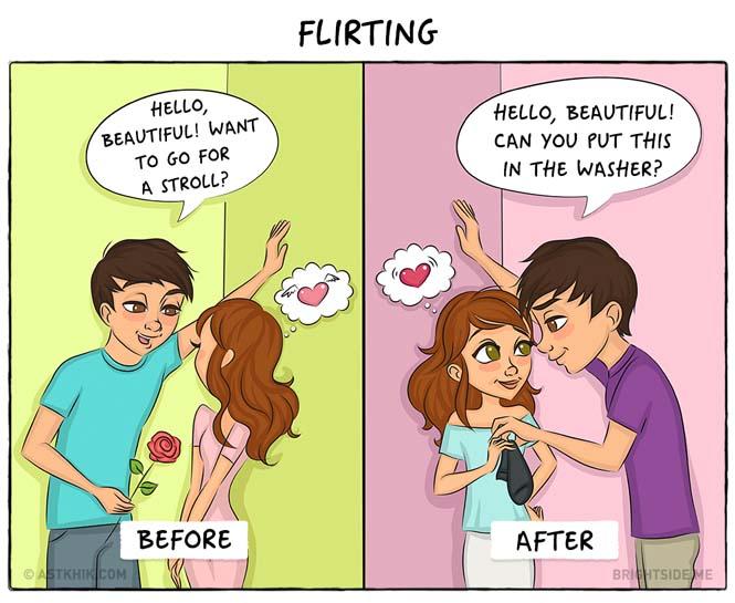 Η ζωή πριν και μετά τον γάμο μέσα από σκίτσα (6)