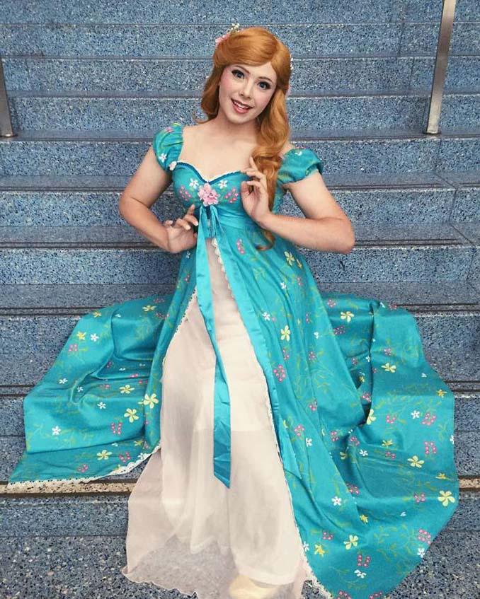 21χρονος μεταμορφώνεται σε πριγκίπισσες της Disney (9)