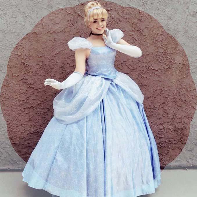 21χρονος μεταμορφώνεται σε πριγκίπισσες της Disney (11)
