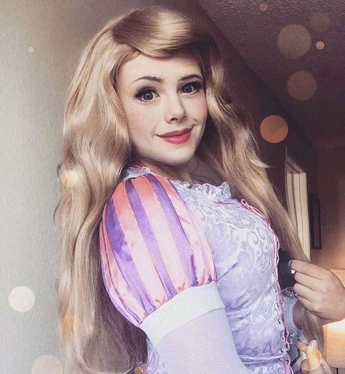21χρονος μεταμορφώνεται σε πριγκίπισσες της Disney (14)