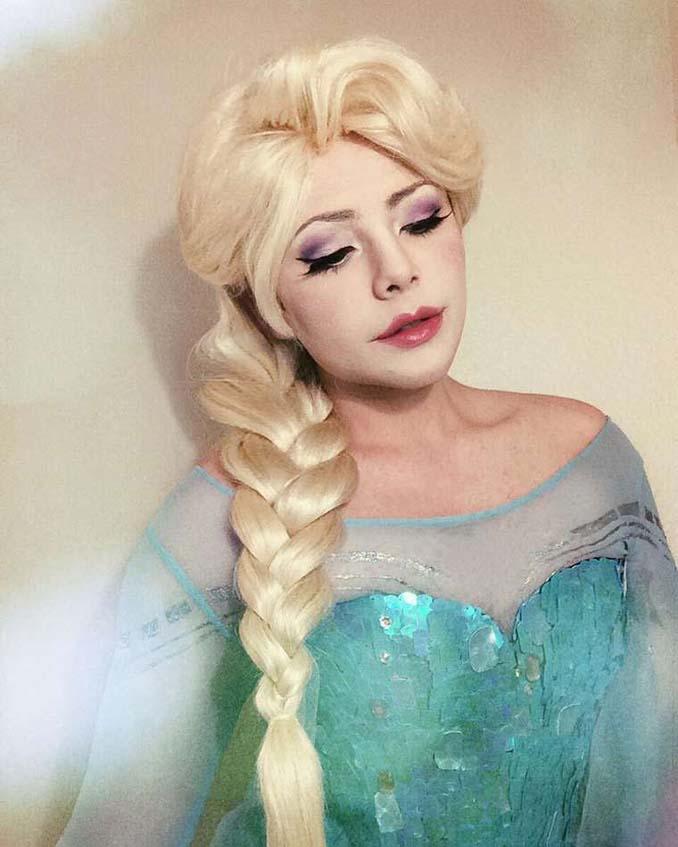 21χρονος μεταμορφώνεται σε πριγκίπισσες της Disney (16)