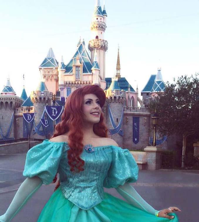 21χρονος μεταμορφώνεται σε πριγκίπισσες της Disney (19)