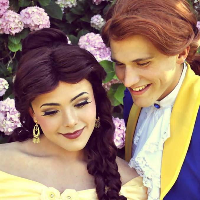21χρονος μεταμορφώνεται σε πριγκίπισσες της Disney (21)