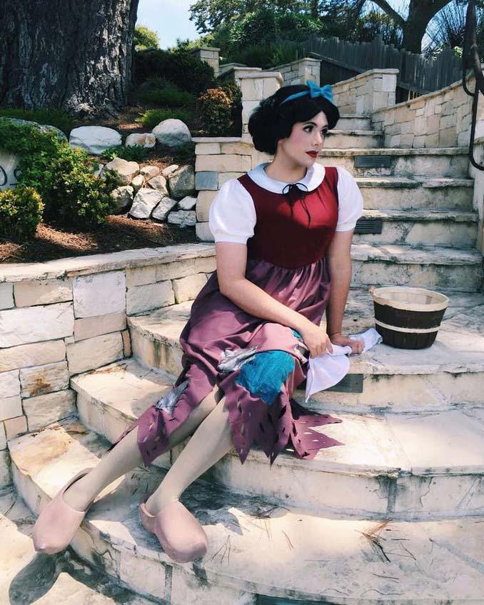 21χρονος μεταμορφώνεται σε πριγκίπισσες της Disney (24)