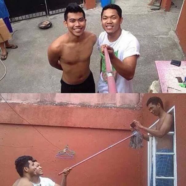 Αν δεν έχεις selfie stick μπορείς πάντα να αυτοσχεδιάσεις (14)