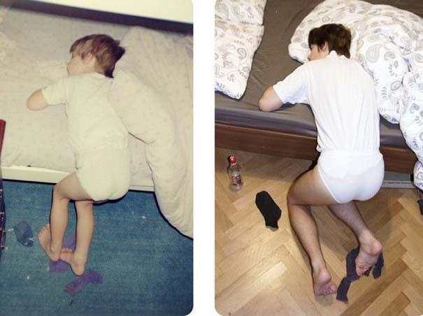 Η αναπαράσταση παιδικών φωτογραφιών ξυπνάει αναμνήσεις και χαρίζει γέλιο (2)