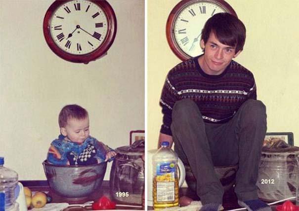 Η αναπαράσταση παιδικών φωτογραφιών ξυπνάει αναμνήσεις και χαρίζει γέλιο (11)