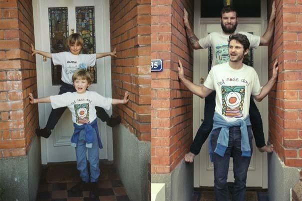 Η αναπαράσταση παιδικών φωτογραφιών ξυπνάει αναμνήσεις και χαρίζει γέλιο (15)