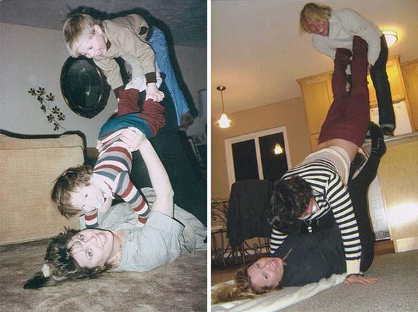 Η αναπαράσταση παιδικών φωτογραφιών ξυπνάει αναμνήσεις και χαρίζει γέλιο (18)