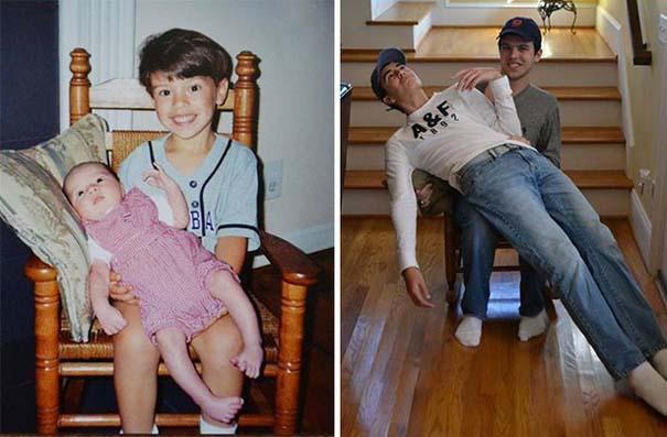 Η αναπαράσταση παιδικών φωτογραφιών ξυπνάει αναμνήσεις και χαρίζει γέλιο (19)