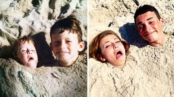 Η αναπαράσταση παιδικών φωτογραφιών ξυπνάει αναμνήσεις και χαρίζει γέλιο (20)