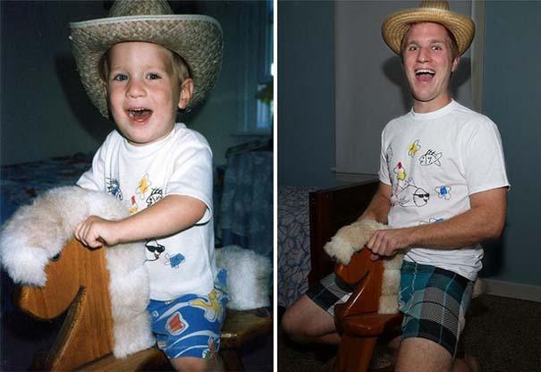 Η αναπαράσταση παιδικών φωτογραφιών ξυπνάει αναμνήσεις και χαρίζει γέλιο (22)