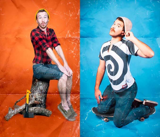 Άνδρες φωτογραφίζονται ως pin-ups (1)