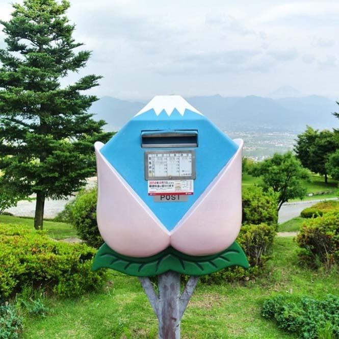 Τα πιο απίθανα και εκκεντρικά γραμματοκιβώτια βρίσκονται στην Ιαπωνία (2)