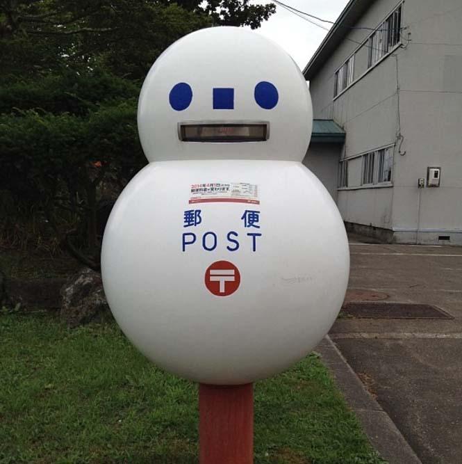 Τα πιο απίθανα και εκκεντρικά γραμματοκιβώτια βρίσκονται στην Ιαπωνία (7)