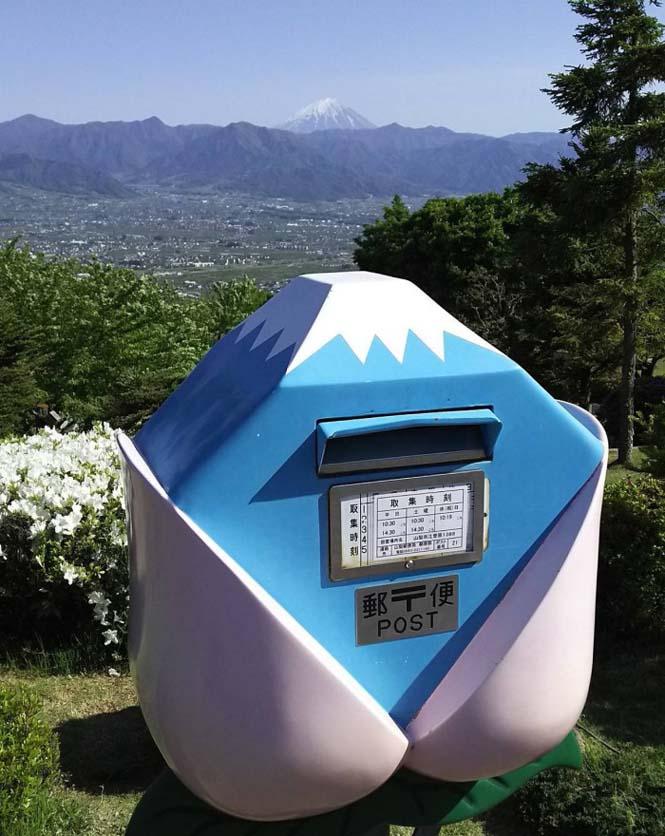 Τα πιο απίθανα και εκκεντρικά γραμματοκιβώτια βρίσκονται στην Ιαπωνία (8)