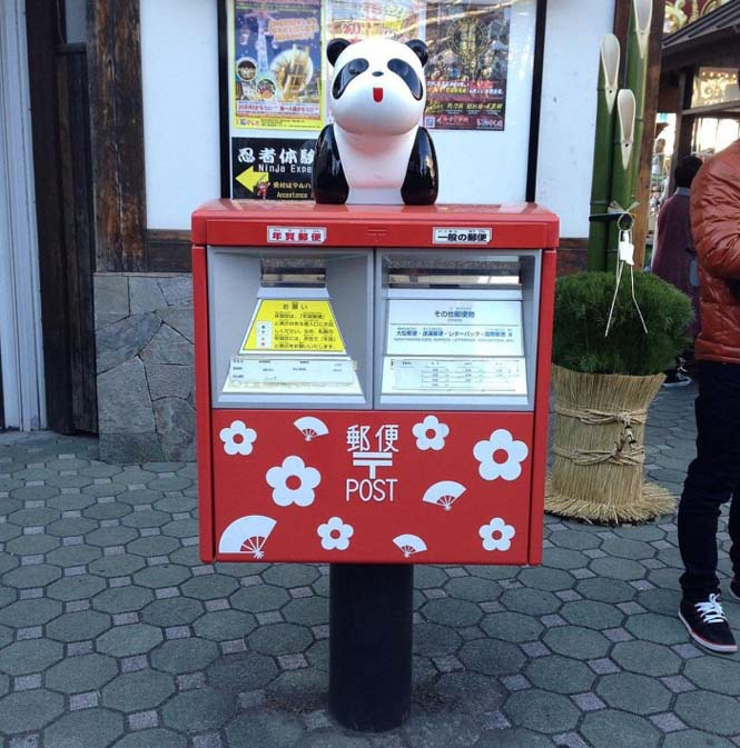 Τα πιο απίθανα και εκκεντρικά γραμματοκιβώτια βρίσκονται στην Ιαπωνία (10)