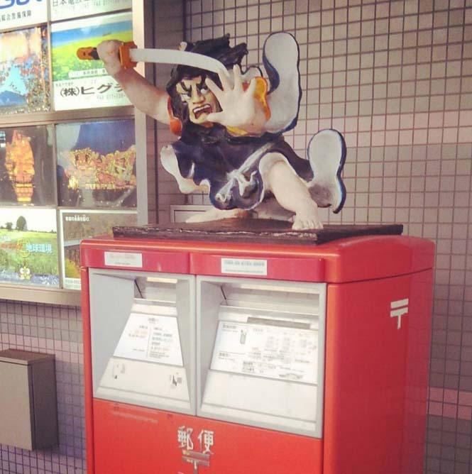 Τα πιο απίθανα και εκκεντρικά γραμματοκιβώτια βρίσκονται στην Ιαπωνία (15)
