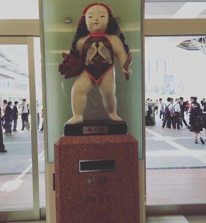 Τα πιο απίθανα και εκκεντρικά γραμματοκιβώτια βρίσκονται στην Ιαπωνία (20)