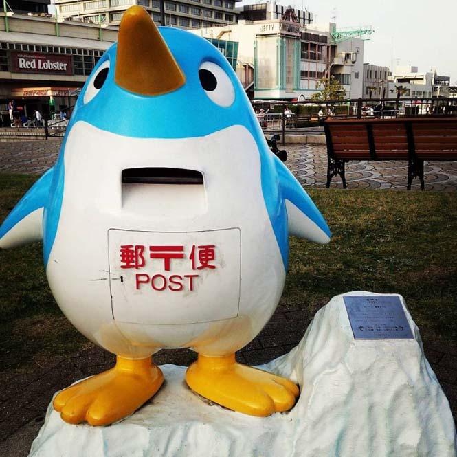 Τα πιο απίθανα και εκκεντρικά γραμματοκιβώτια βρίσκονται στην Ιαπωνία (23)