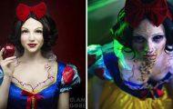 Αυτοδίδακτη καλλιτέχνης δείχνει την μοίρα των πριγκιπισσών της Disney και άλλων γνωστών προσώπων (1)