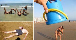 22 δημιουργικές φωτογραφίες στην παραλία που δεν περνούν απαρατήρητες
