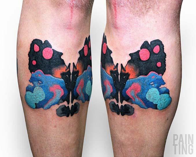 Δυναμικά και γεμάτα χρώμα τατουάζ από τον Szymon Gradowicz (5)