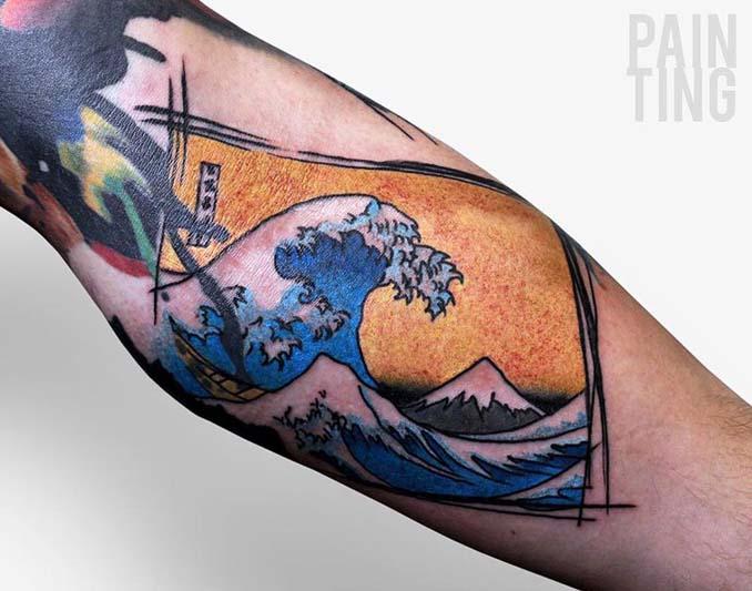 Δυναμικά και γεμάτα χρώμα τατουάζ από τον Szymon Gradowicz (6)