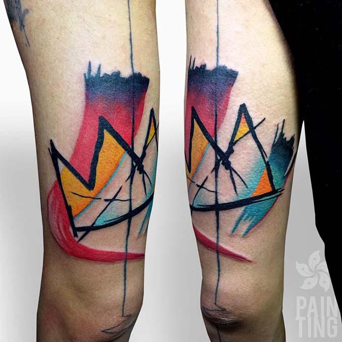 Δυναμικά και γεμάτα χρώμα τατουάζ από τον Szymon Gradowicz (12)