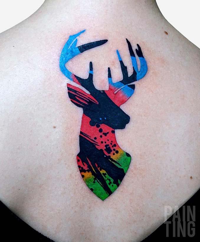Δυναμικά και γεμάτα χρώμα τατουάζ από τον Szymon Gradowicz (19)