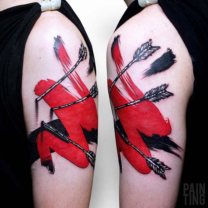 Δυναμικά και γεμάτα χρώμα τατουάζ από τον Szymon Gradowicz (20)