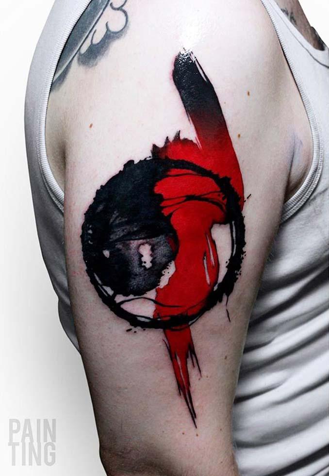 Δυναμικά και γεμάτα χρώμα τατουάζ από τον Szymon Gradowicz (24)