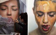Εκπληκτικά ρεαλιστικοί πίνακες ζωγραφικής από τον Mike Dargas (1)