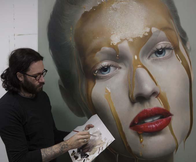 Εκπληκτικά ρεαλιστικοί πίνακες ζωγραφικής από τον Mike Dargas (2)