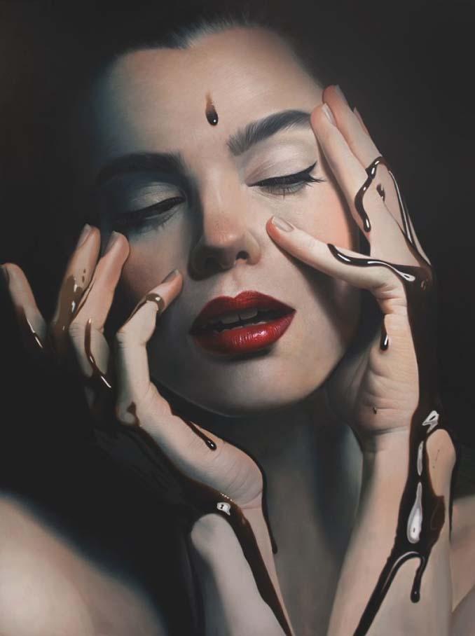 Εκπληκτικά ρεαλιστικοί πίνακες ζωγραφικής από τον Mike Dargas (5)