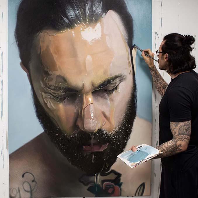 Εκπληκτικά ρεαλιστικοί πίνακες ζωγραφικής από τον Mike Dargas (11)