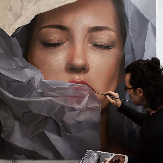 Εκπληκτικά ρεαλιστικοί πίνακες ζωγραφικής από τον Mike Dargas (12)