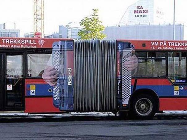 Έξυπνες και δημιουργικές διαφημίσεις σε λεωφορεία (1)
