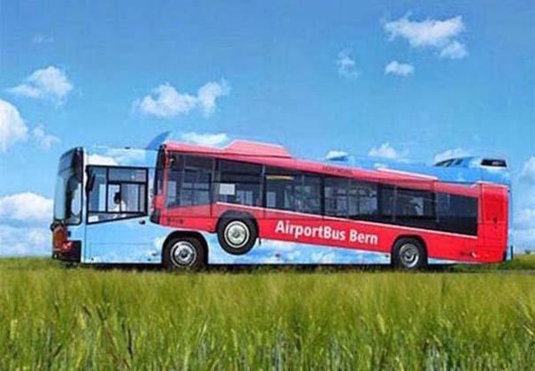 Έξυπνες και δημιουργικές διαφημίσεις σε λεωφορεία (2)