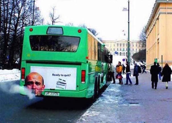 Έξυπνες και δημιουργικές διαφημίσεις σε λεωφορεία (5)